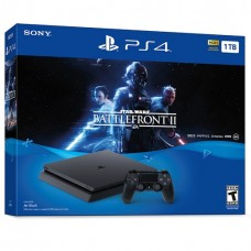 PlayStation 4 SLIM Bundle (1 Tb, Star Wars Battlefront II), , Консоли